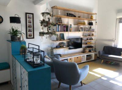 Appartement de type 3 de 66 m², 3 terrasses
