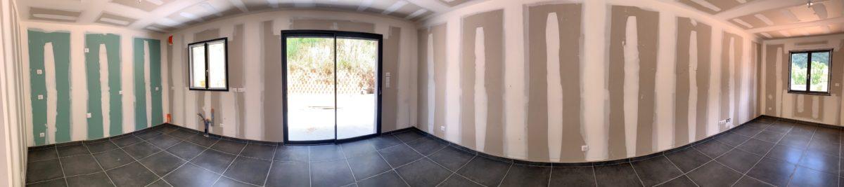Terrain de 337 m² avec projet de construction